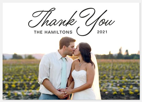 Simply Scripted Thank You Cards