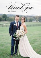 Classically Scripted -  Wedding Thank You Notes