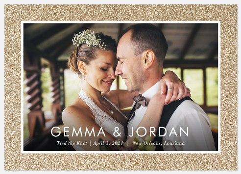Sparkling Devotion Wedding Announcements