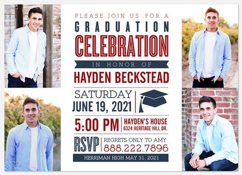 Proud Accomplishment  Graduation Cards