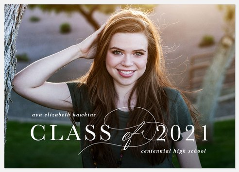 Chic Class Graduation Cards