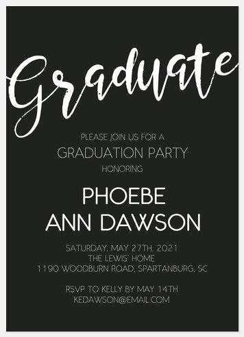Simple Celebration Graduation Cards