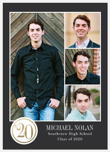 Medallion Year Graduation Cards