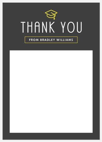 Iconic Graduate Thank You Cards