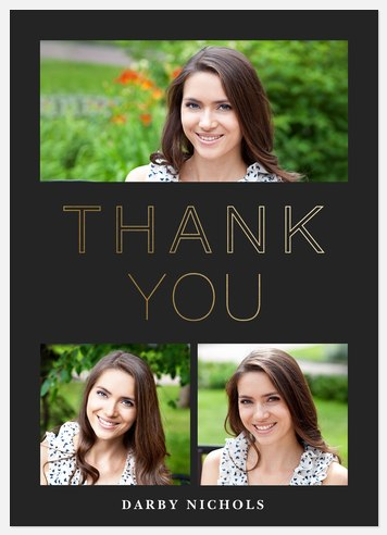 Modern Class Thank You Cards