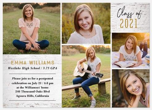 Hometown Chic Graduation Cards