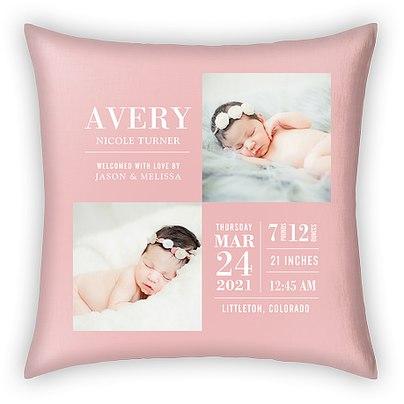 Darling Details Custom Pillows