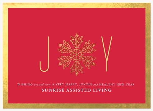 Business Holiday Cards, Radiant Joy Design