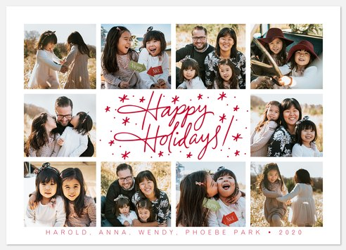 Holiday Signature Holiday Photo Cards