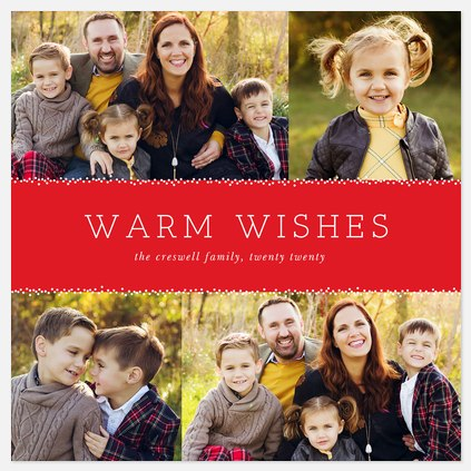 Tiny Twinkles Holiday Photo Cards