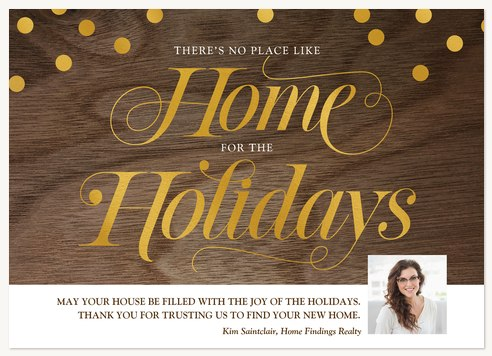 Home for the Holidays Business Holiday Cards