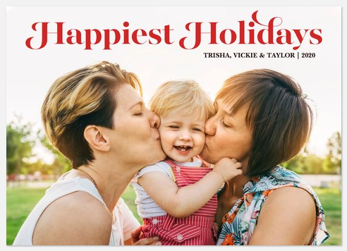 Merry To All Holiday Photo Cards