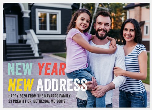 New Year New Address
