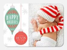 Holiday Treasure -  Christmas Birth Announcements