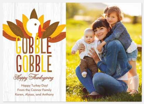 Gobble  Thanksgiving Cards