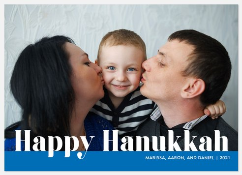 Happy Tradition Hanukkah Photo Cards