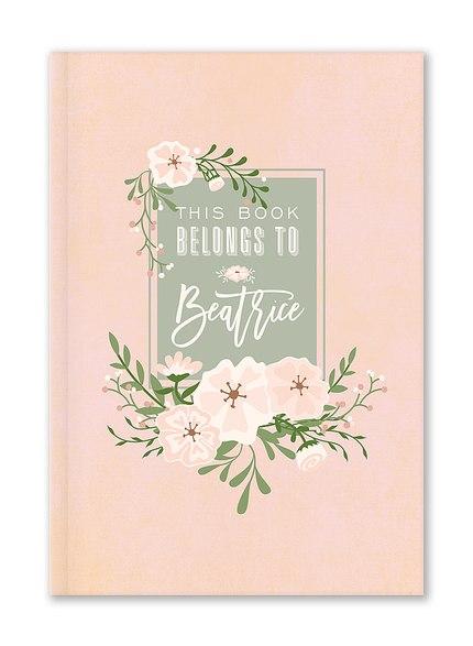 Custom Journals, Fresh Blossoms Design