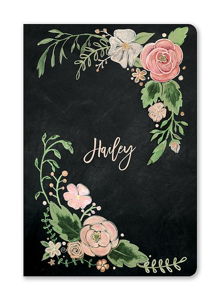 Custom Journals, Floral Dreams Design