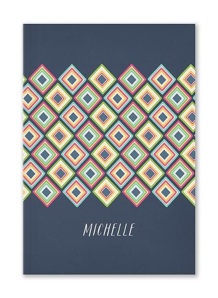 Custom Journals, Mixed Tiles Design