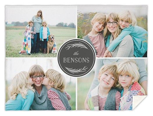Namesake Boughs Custom Blankets