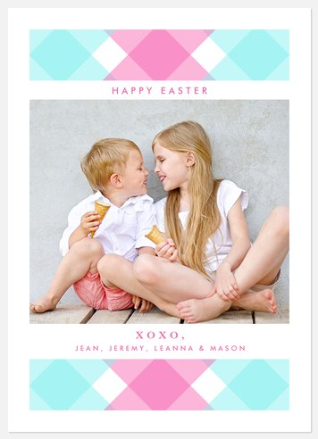 Spring Cheer Easter Photo Cards