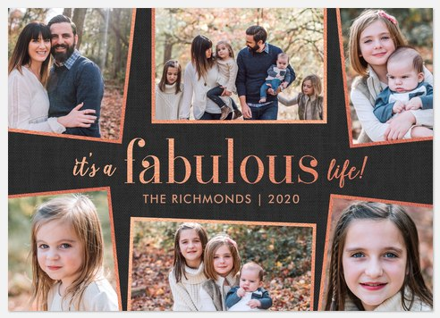 A Fabulous Life Holiday Photo Cards