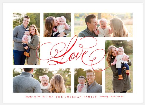 Surrounded By Love Valentine Photo Cards