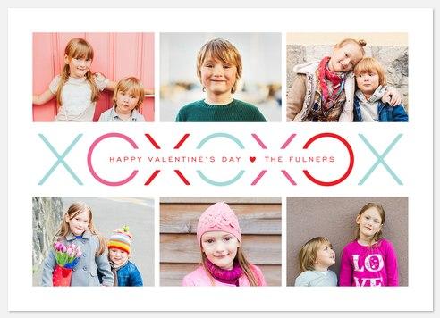 Love Banner Valentine Photo Cards