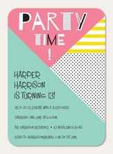 Teenage Party Invitations Sweet 16 Invitations Simply To Impress