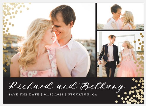 Enchanted  Save the Date Photo Cards