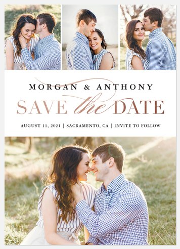 Classic Showcase Save the Date Photo Cards