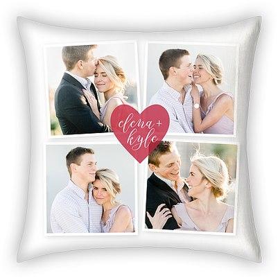 Love Snaps Custom Pillows