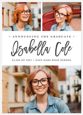 Modern Marker Graduation Cards