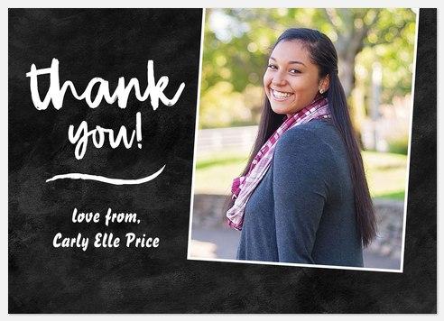 Graduate Scrapbook Thank You Cards