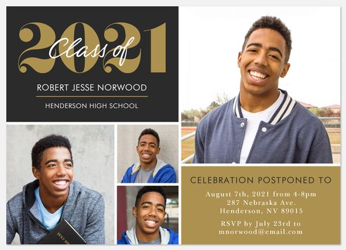 Notable Year Graduation Cards