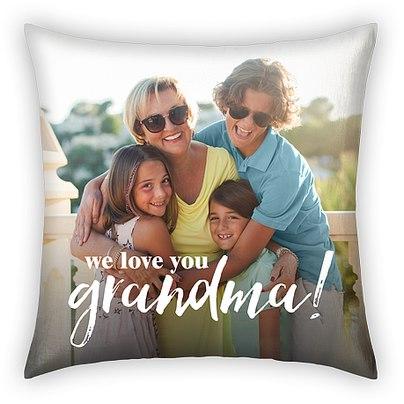 Love You Grandma Custom Pillows