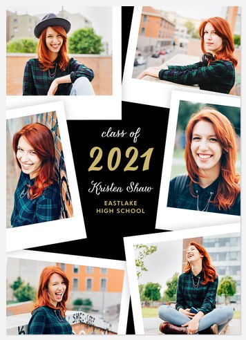 Snapshot Moments Graduation Cards