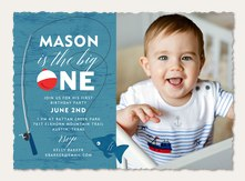 Boy birthday invitations simply to impress fishing trip filmwisefo