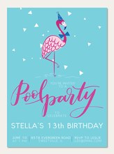 Teen Birthday Invitations