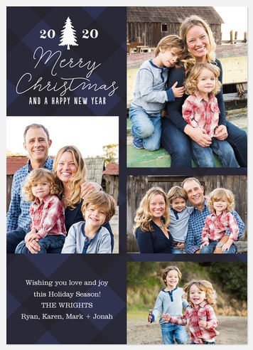 Winter Solstice Holiday Photo Cards