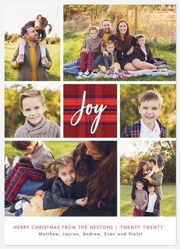 Highland Joy Holiday Photo Cards