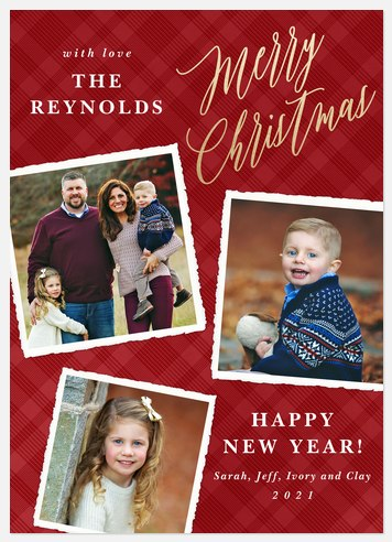 Holiday Scrapbook Holiday Photo Cards