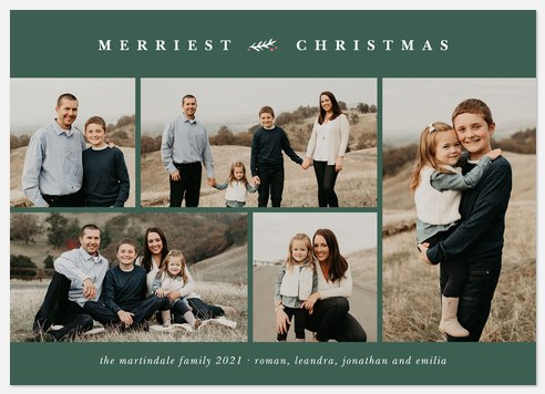 Douglas Fir Holiday Photo Cards