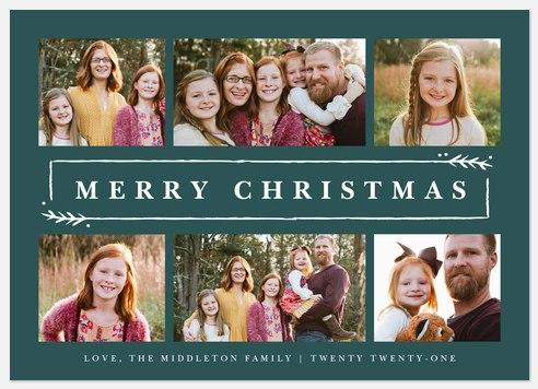 Garland Frame Holiday Photo Cards