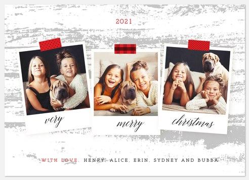 Cheery Snapshots Holiday Photo Cards