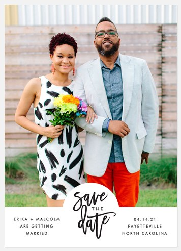 Playful Love Save the Date Photo Cards