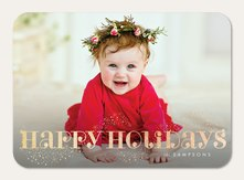 Baby Christmas Cards Simply To Impress