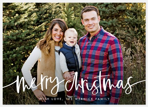 Royal Icing Holiday Photo Cards