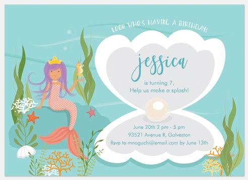 Under The Sea Kids' Birthday Invitations