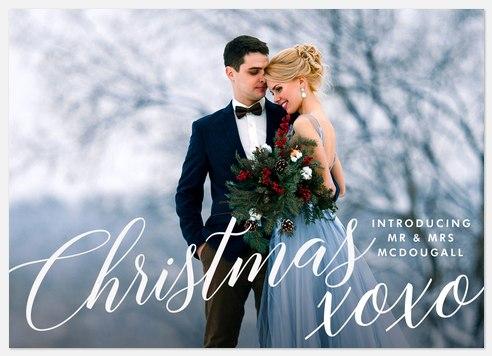 Christmas XOXO Holiday Photo Cards